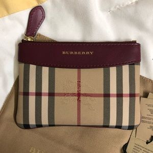 Burberry Mini Flat Pouch